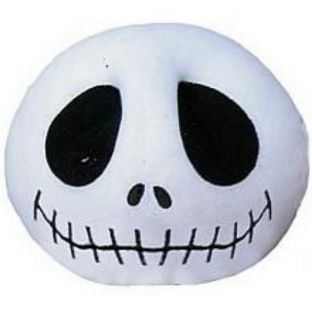 Nightmare Before Christmas 'Jack Head' Cushion